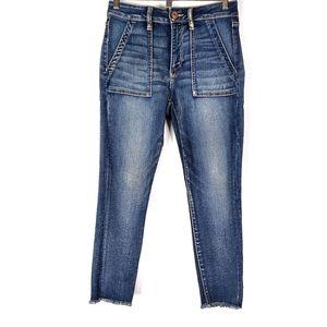 American Eagle Hi-Rise Jegging Crop Jeans 8 Short